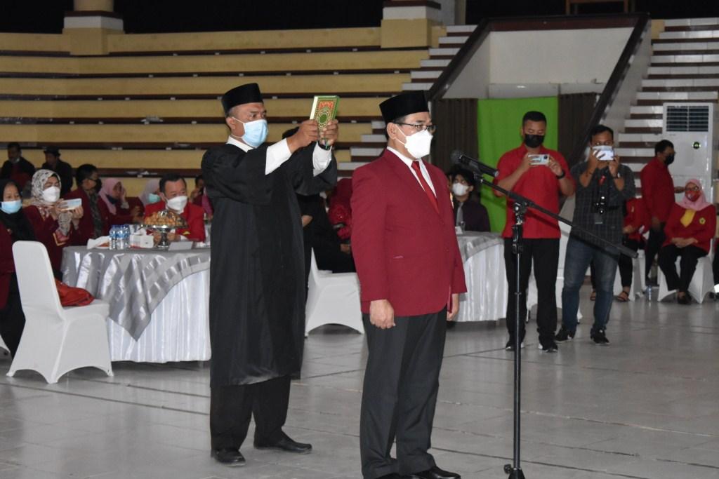 Pelantikan Rektor UNTAG Samarinda