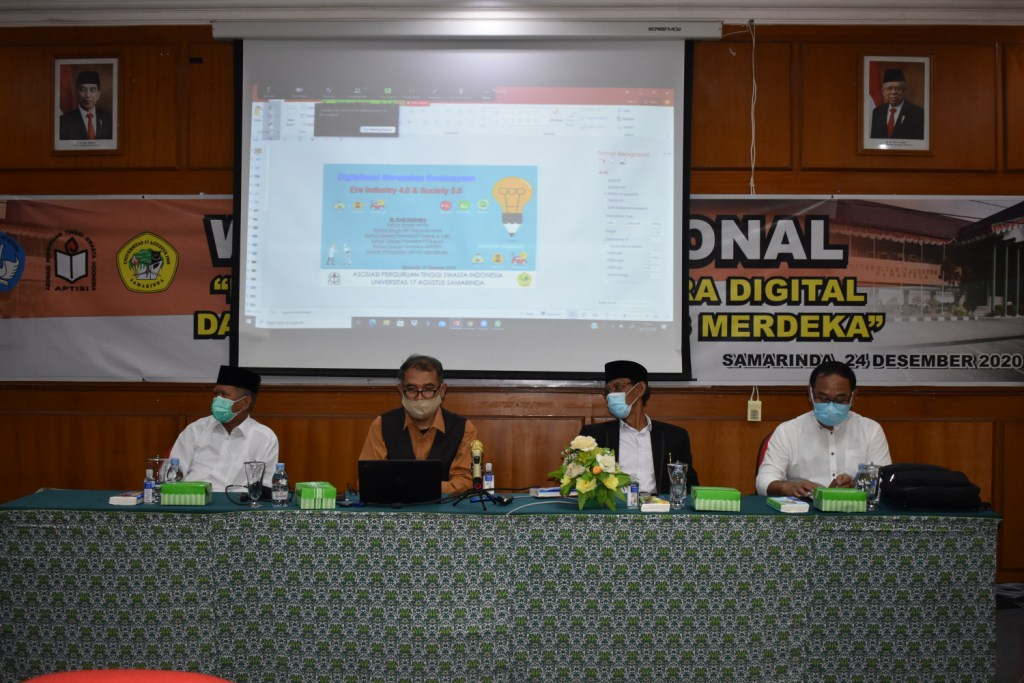 Webiner Nasional Kampus Merdeka 2