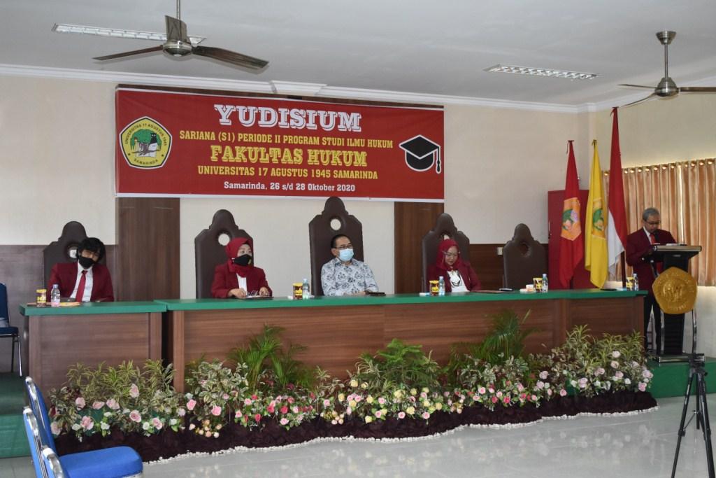 Yudisium Fakultas Hukum Perioede II 2020_1